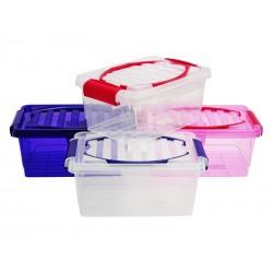 Unihouse úložný box plastový s víkem 5 l