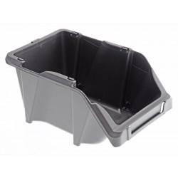 Unihouse Úložný box 7,5 x 10 x 16,5 cm plastový šedý