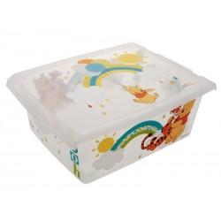 Unihouse Úložný box plastový Medvídek Pú 10 l