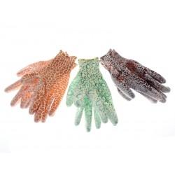 Unihouse Zahradnické rukavice gumové dámské 22 cm