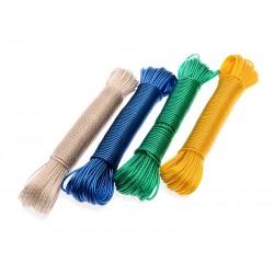 Unihouse Šňůra na prádlo 20 m mix barev