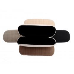Unihouse Pouzdro na brýle 3,5 x 6 x 16,5 cm - přírodní