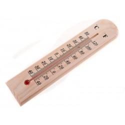 Unihouse Teploměr dřevěný 27 cm