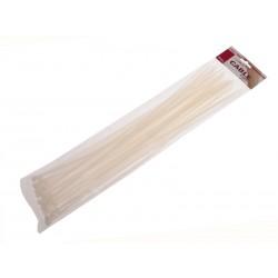 Unihouse Stahovací pásky 0,48 x 40 cm 50 ks - bílé