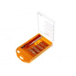 Unihouse Sada nářadí - šroubovák + bity 30 ks - oranžová