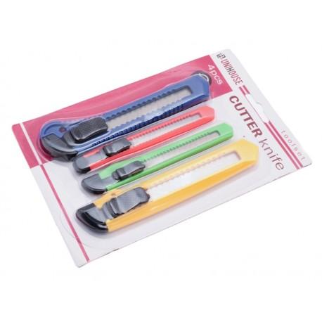 Unihouse Sada Lámacích nožů 2 x 15 cm, 2 x 13 cm 4 ks