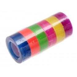 Unihouse Lepící páska 1,8 x 20 cm 6 ks mix barev