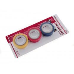 Unihouse Elektrikářská izolační páska 3 ks